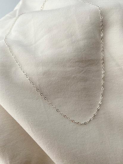 "Halskette ""Plain"" Silber"