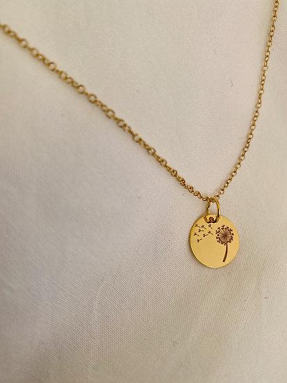 """Halskette """"Dandelion"""" Gold"""