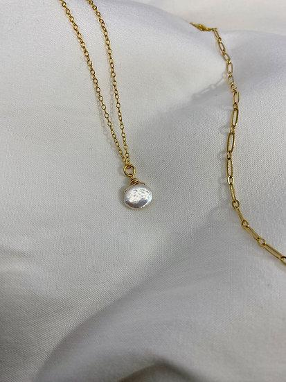 """Halskette """"Coin"""" Gold"""