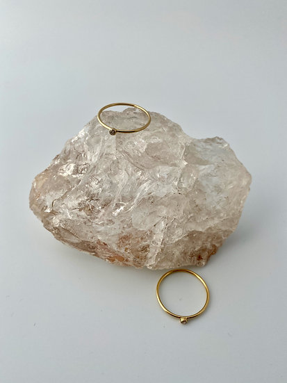 """Ring """"One"""" Gold"""