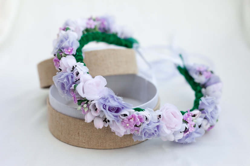 "Blumenkranz ""Lilac Marshmallow"""