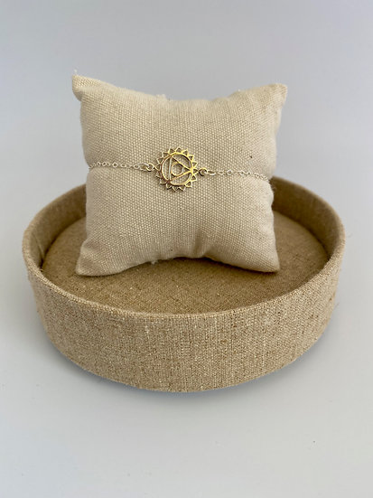 Armband Kehlkopfchakra - Vishuddha