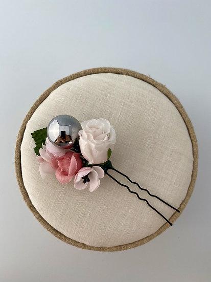 "Blumennadel ""Rose Christmas"""