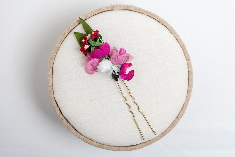 "Blumennadel ""Pinkish"""