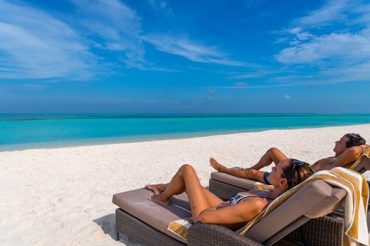 Relaxing on sunbed.JPG