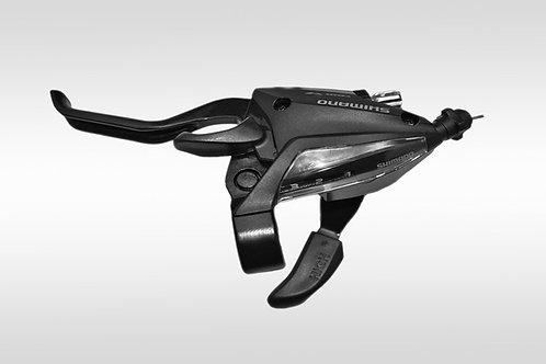 Шифтер ручка Tourney EF500 левый 3 скорости черный