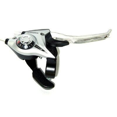 Tourney EF51 правый 8 скоростей 2050 мм серебро