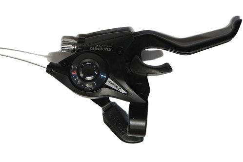 Шифтер ручка Tourney EF510 правый 7 скоростей черный