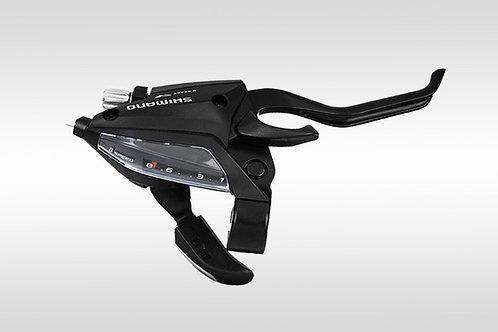 Шифтер ручка Tourney EF500 правый 8 скоростей черный