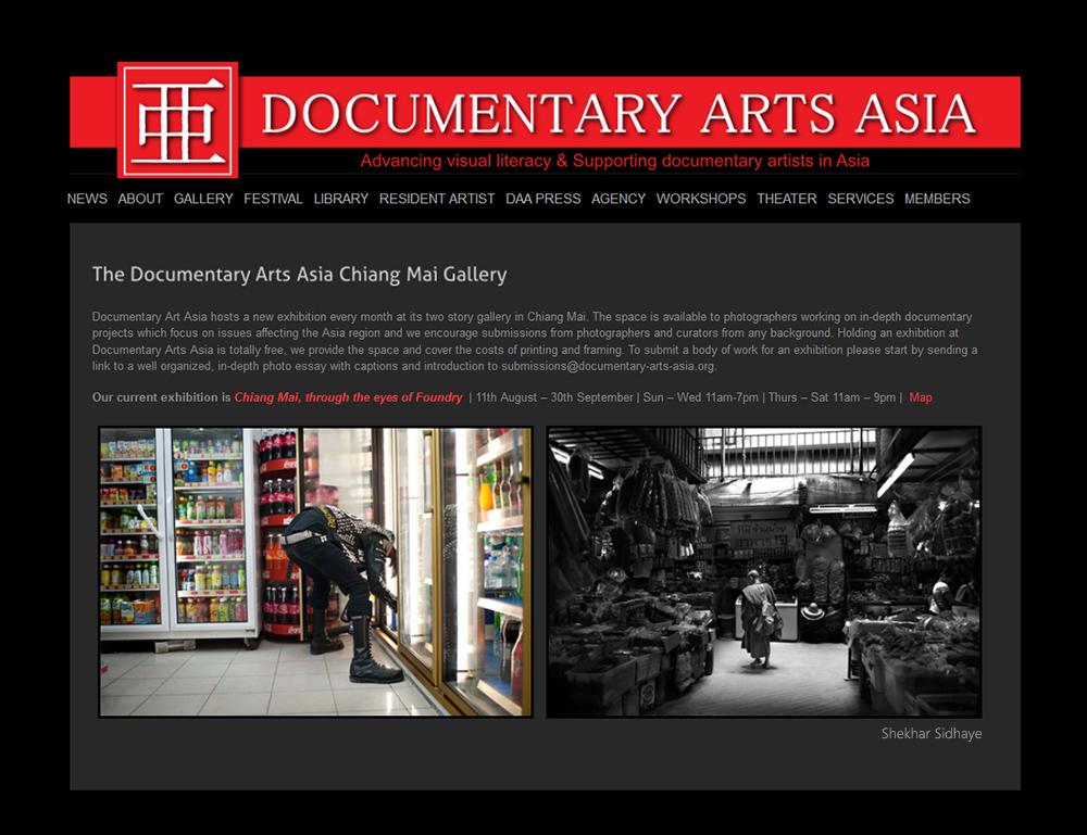 Documentary Arts Asia - Thailand