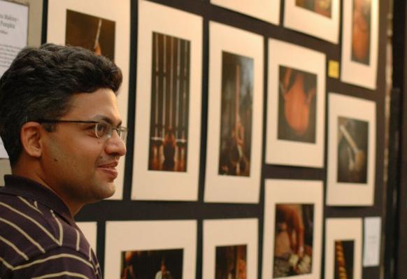 Shekhar Sidhaye at Kalaghoda Festival