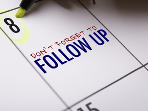 The importance of Follow-ups & Discounts