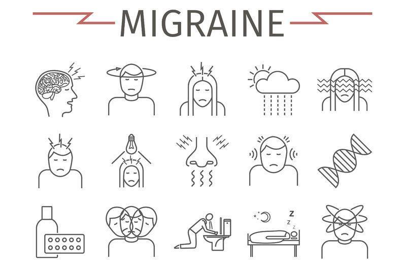 Migraine genezen met voetreflexologie