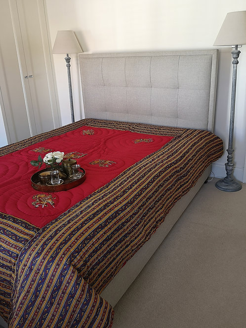 Ship Of The Desert Quilted Bedcover
