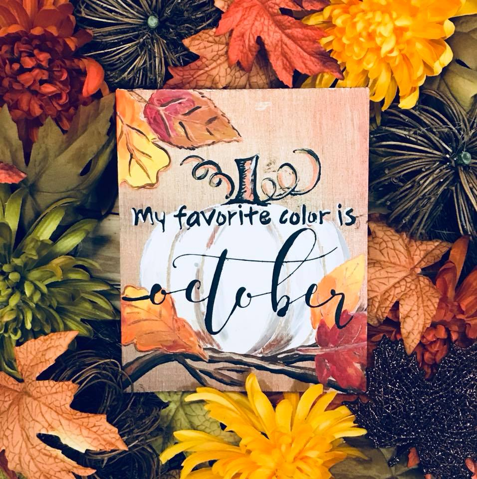 My Favorite Color is Fall Mini