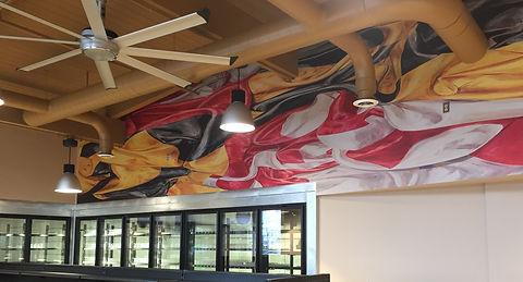Waterloo Flag Mural