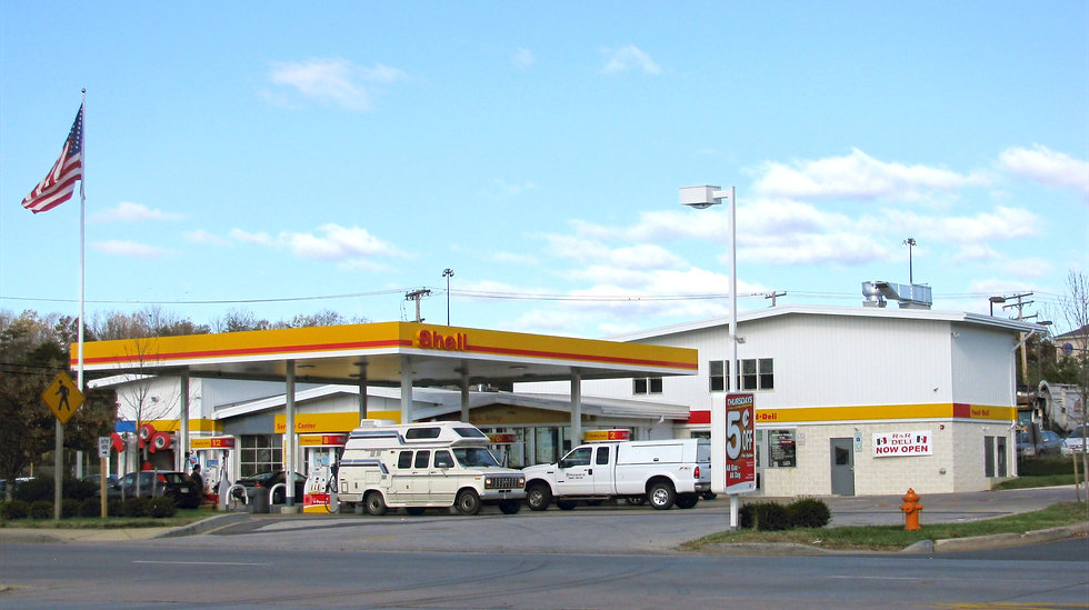 Waterloo Shell Gas Station