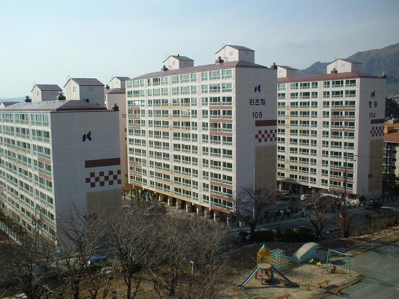 진해 풍호동 경동 윈츠힐 (2004.03)