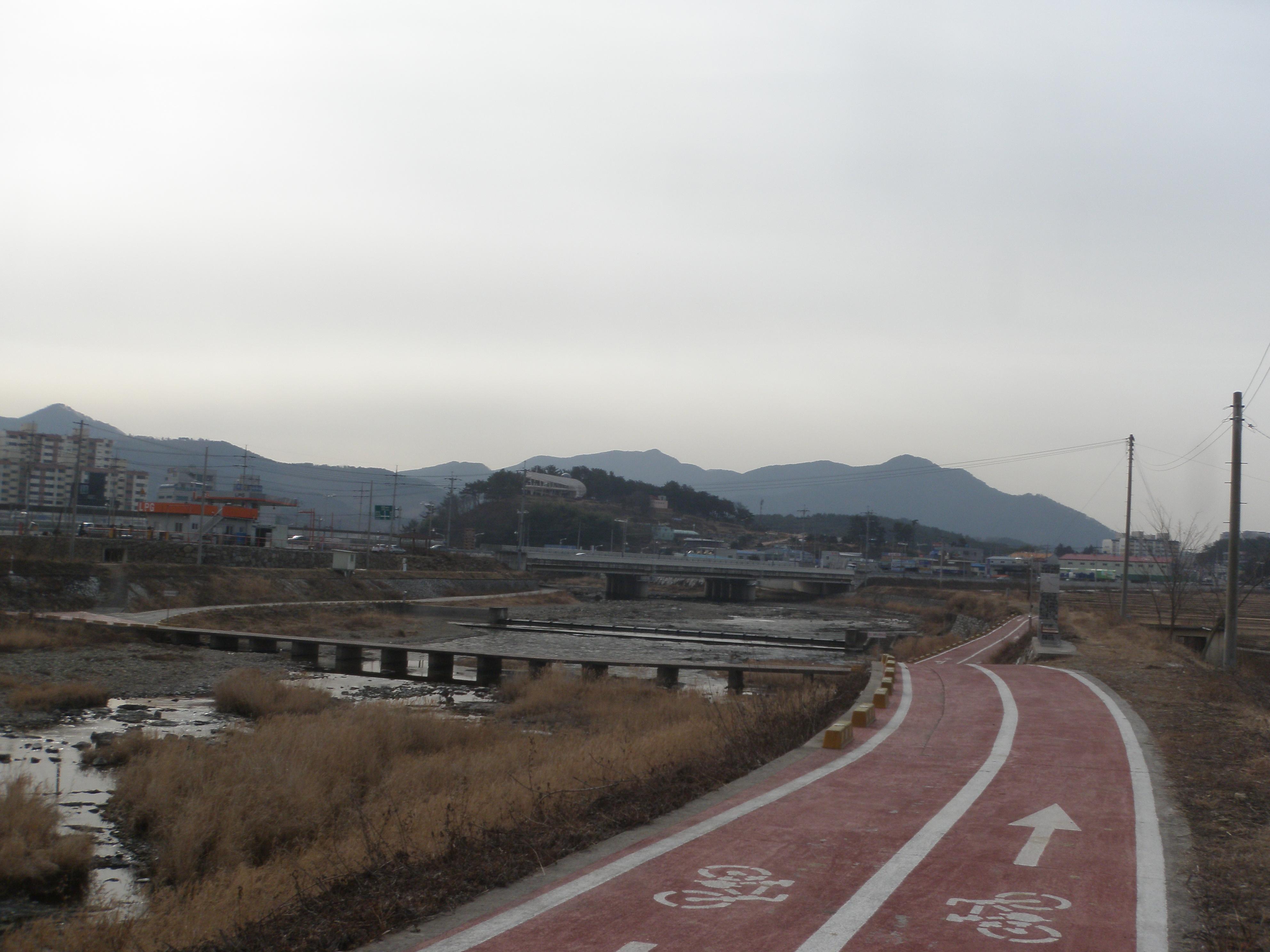사천강 환경정비사업 (2015.2)