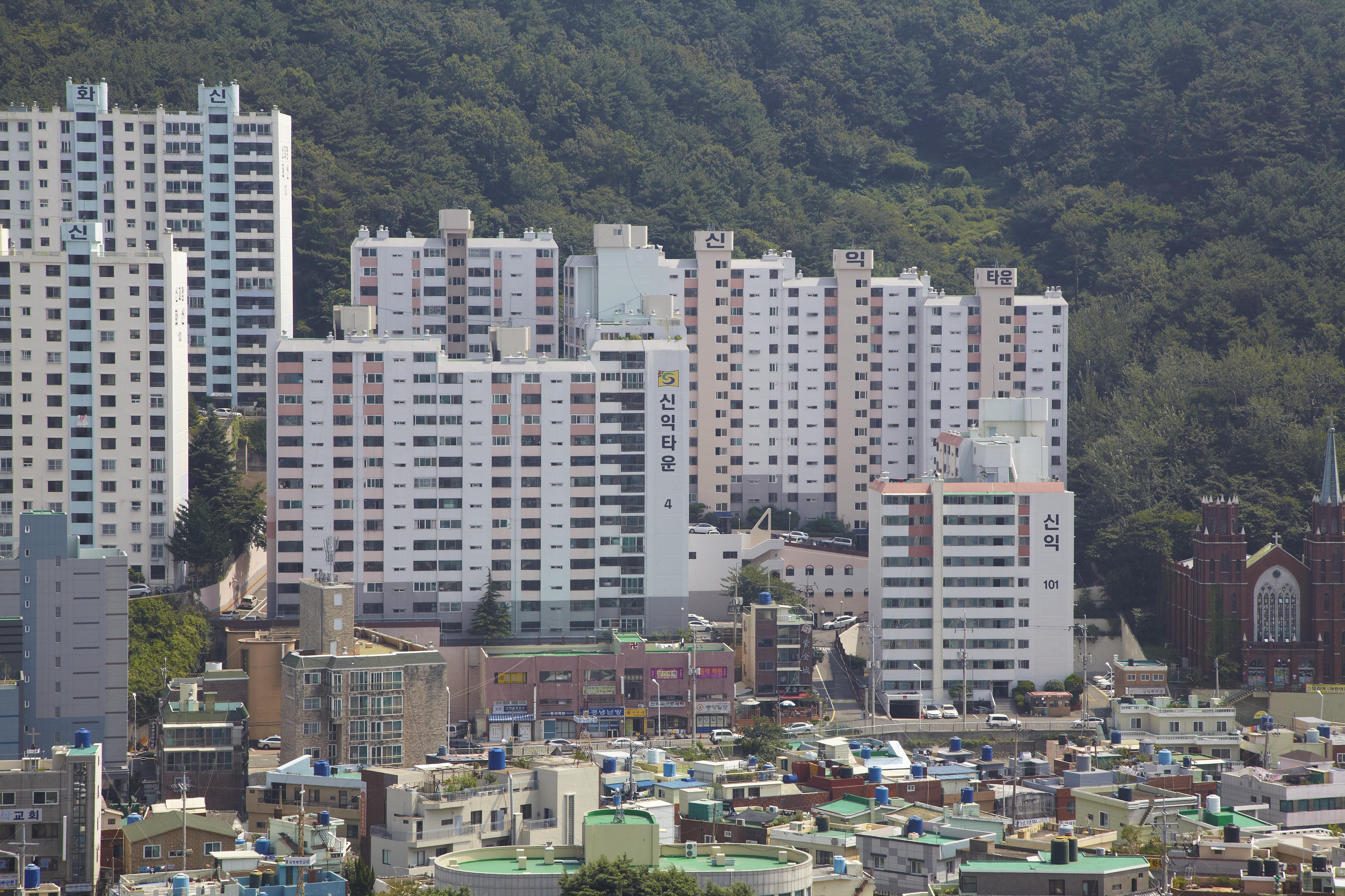 괴정동 신익아파트 (1989.10)