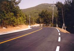 내포-옥계간 도로 (2000.6)
