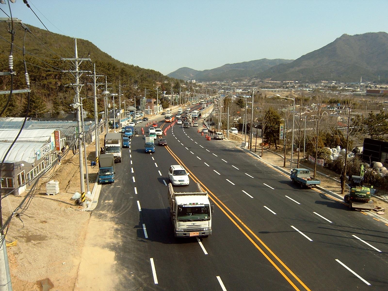 노포-영천간 도로 (2005.4)