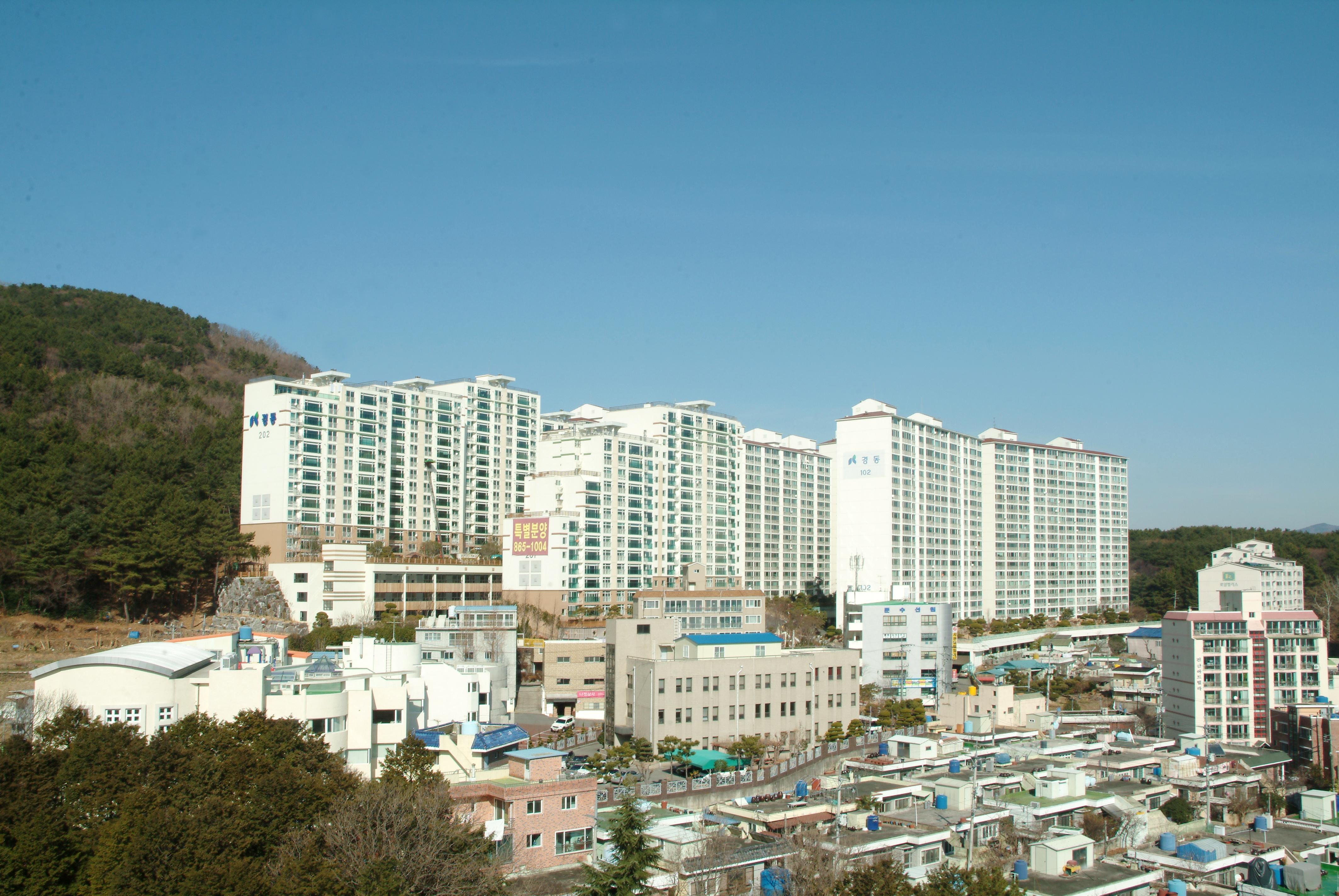 청룡동 경동아파트 (1997.10)