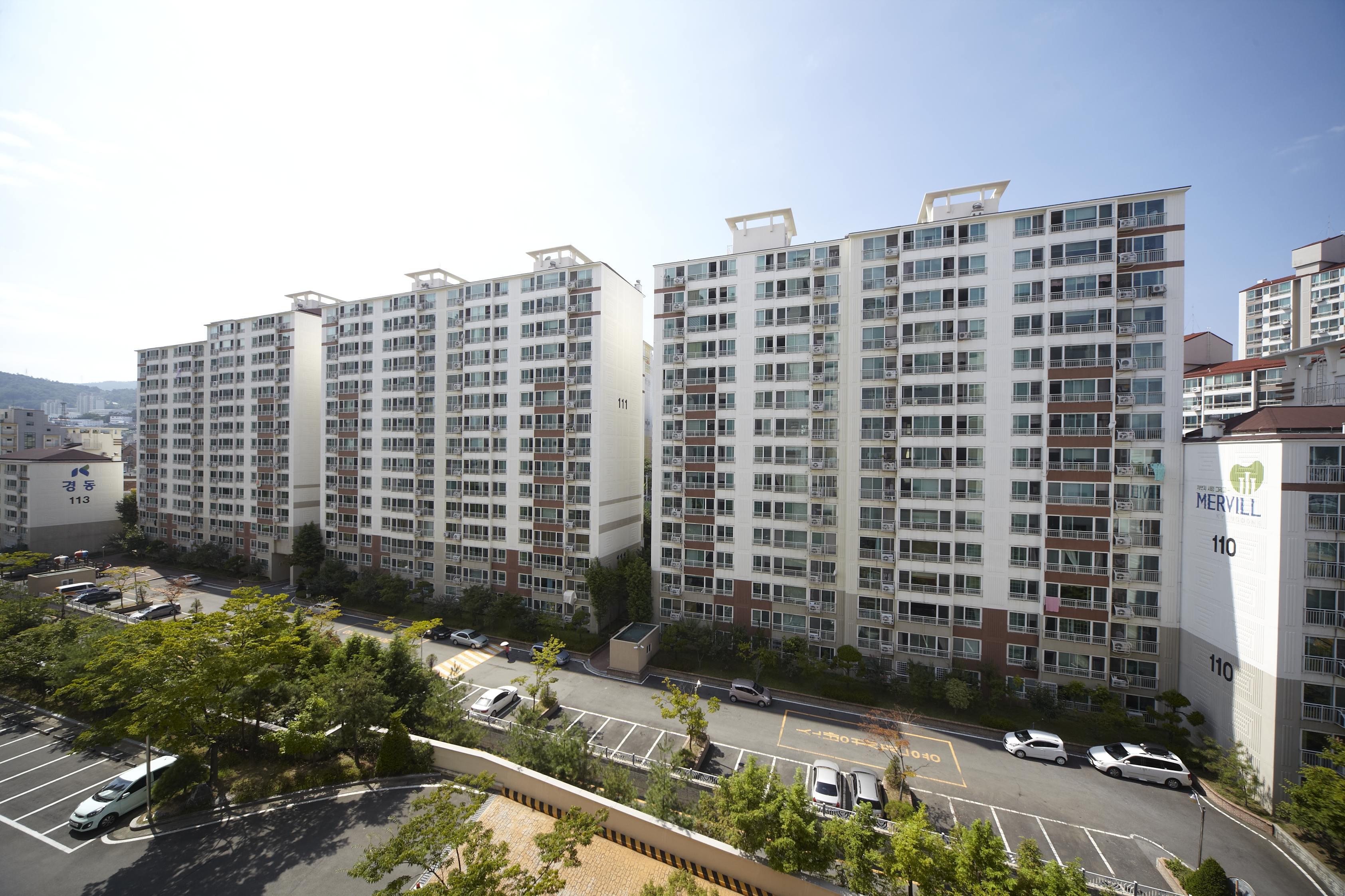 마산 중앙동 경동메르빌 (2007.1)