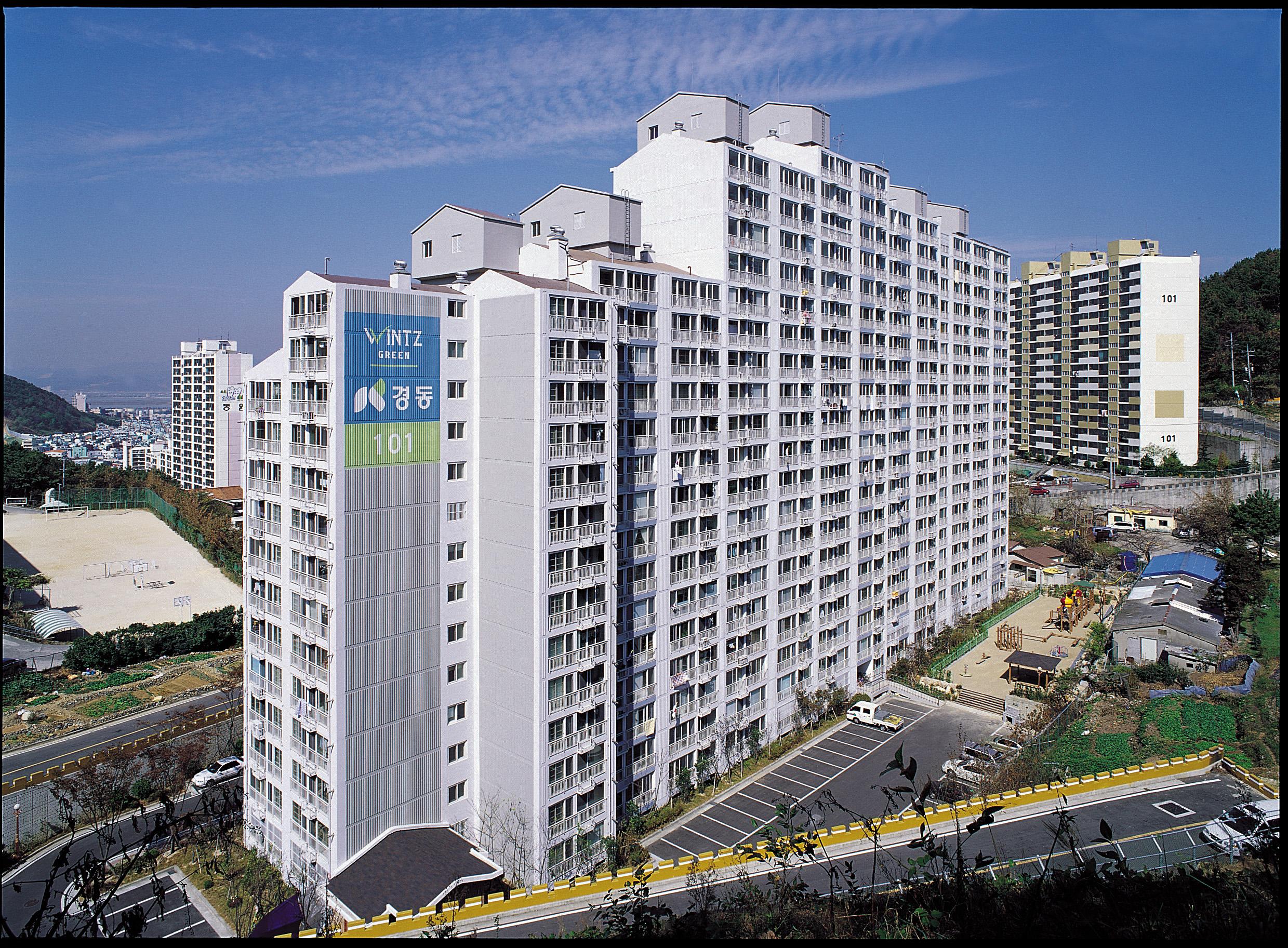 장림 윈츠그린 아파트 (2002.11)