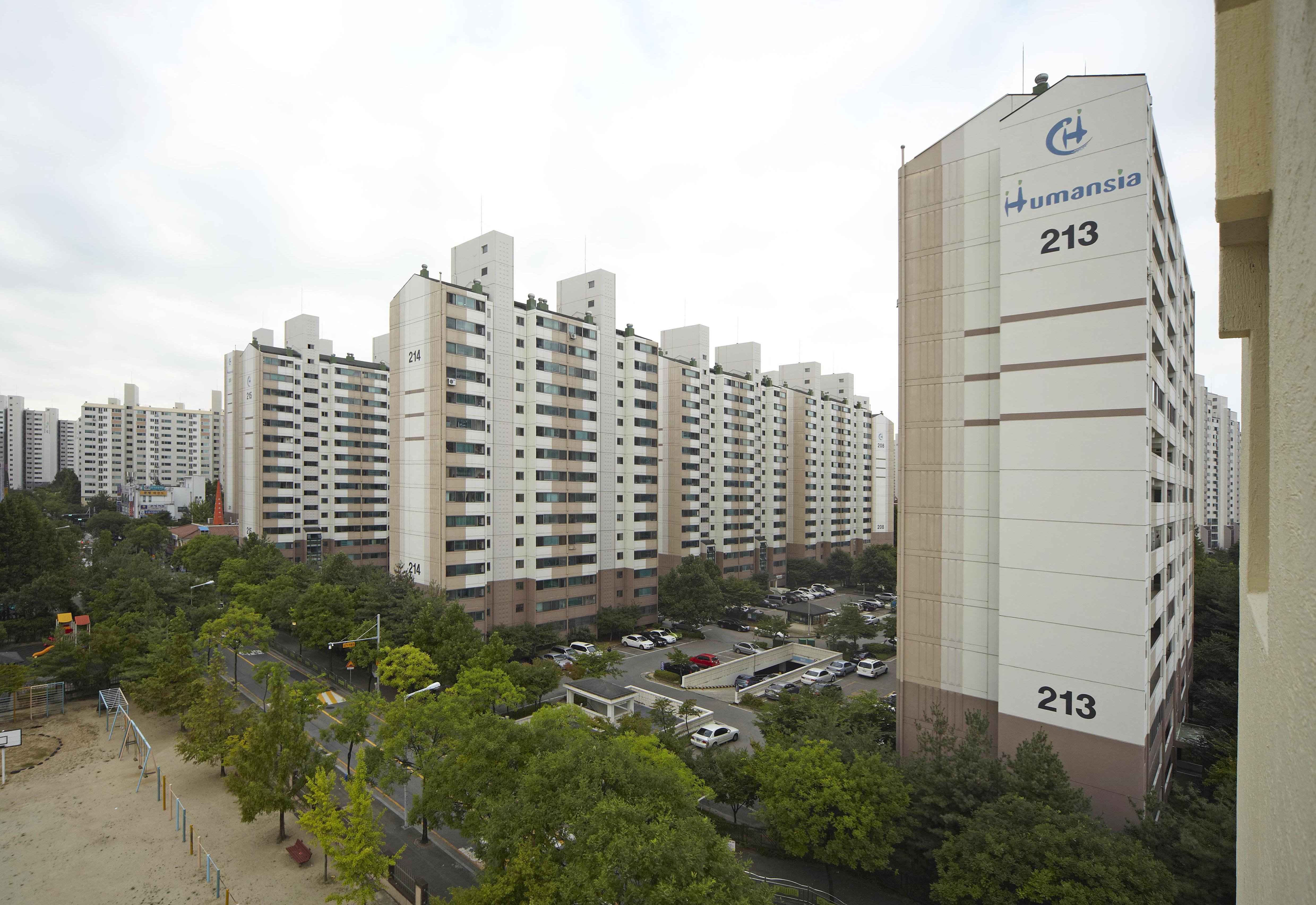 청주 분평 주공아파트 (2000.9)