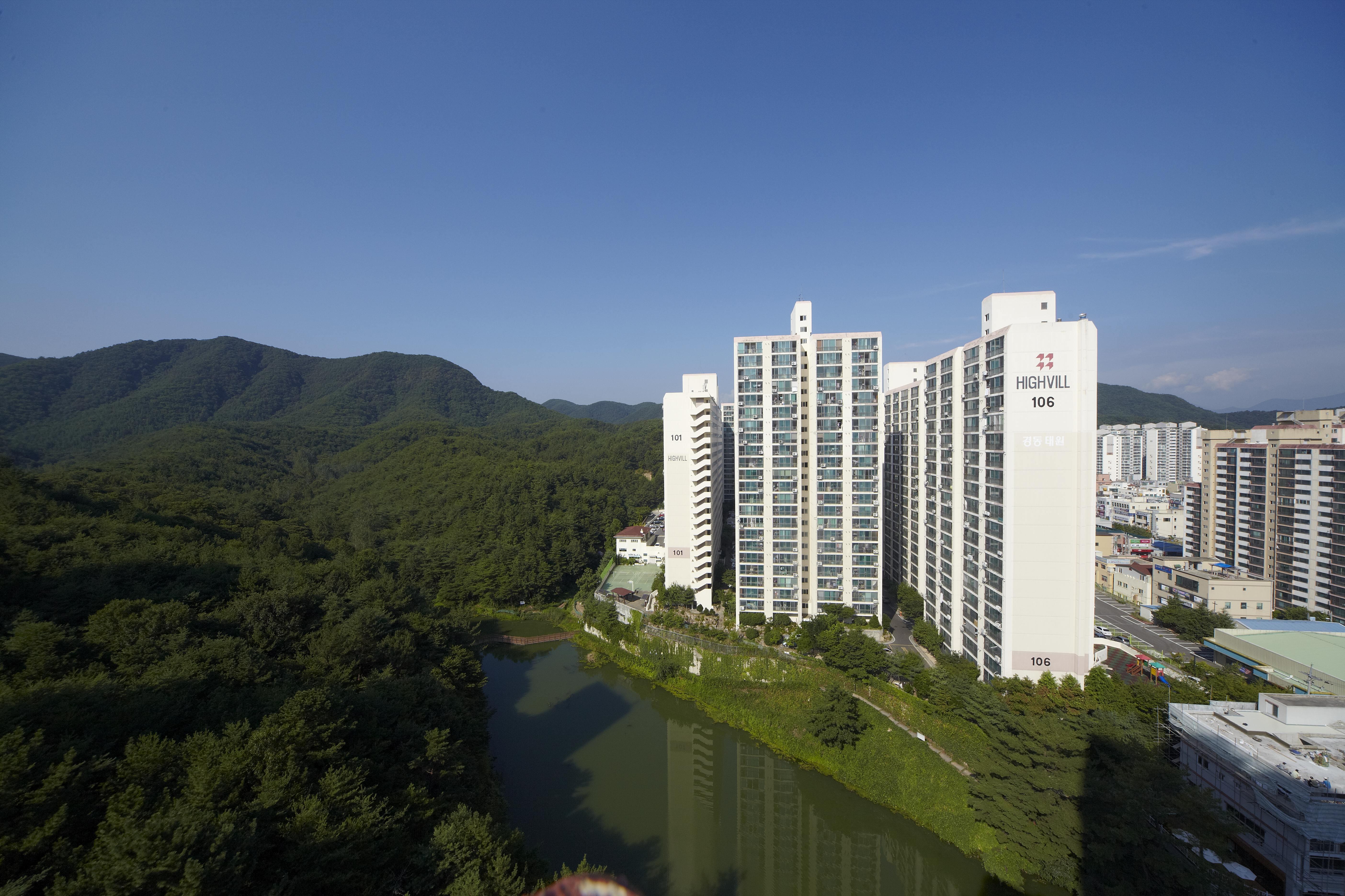 울산 천상태원 아파트 (2001.2)