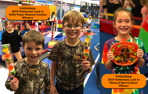 EVOLVEkids 2019 Halloween Lock In Contest Winners