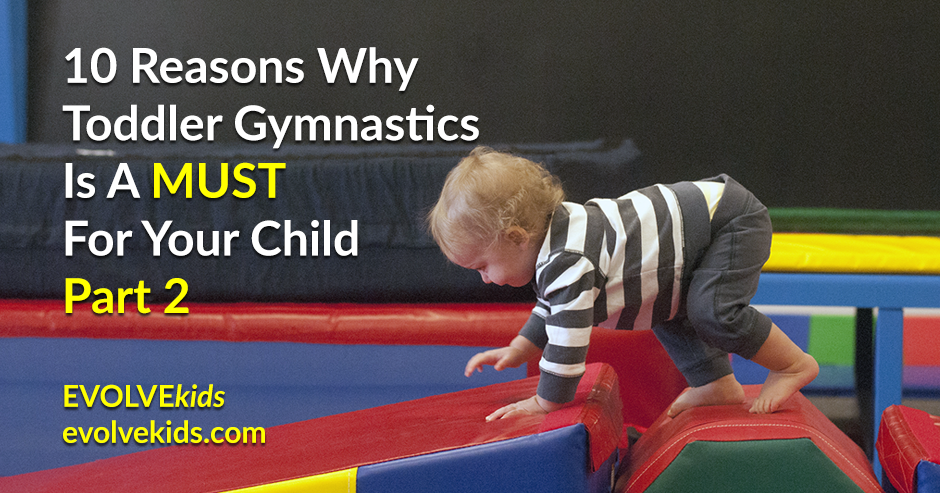 EVOLVEkids Toddler Open Gym