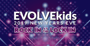 """EVOLVEkids New Years Eve """"Rock In at the Lock In"""""""