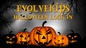 EVOLVEkids Halloween Lock In