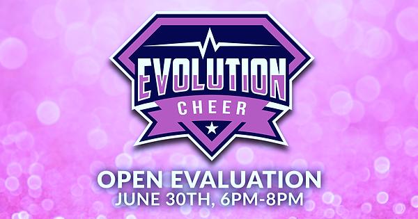 FB POST Evolution Cheer Pink Open Evalua