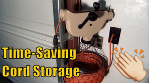 The Wonder Winder - A Great Electrical Cord Storage Device!