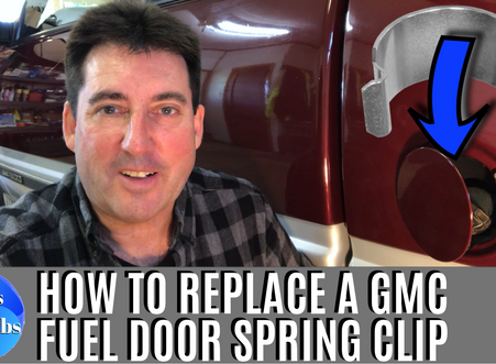 How to Replace a Chevy Fuel Door Spring Clip