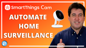 SmartThings Indoor Security Camera Automation