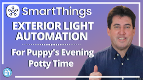 SmartThings Exterior Lighting Automation