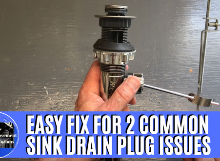 Bathroom Sink Drain Stopper Troubleshooting Guide