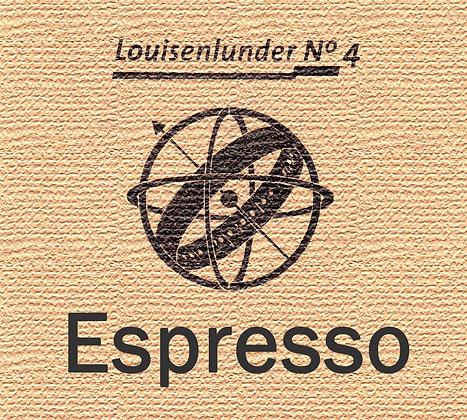 Louisenlunder No 4 - ESPRESSO - 500 Gramm
