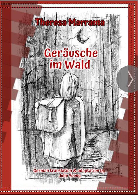 Geräusche im Wald - German Reader - Level 1/2  (intermediate - low)