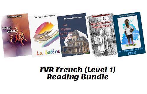 FVR French (Level 1) Reading Bundle