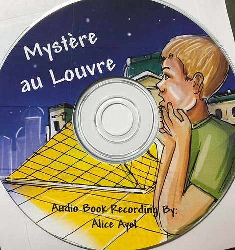 Mystère au Louvre - Digital Audio Book Download