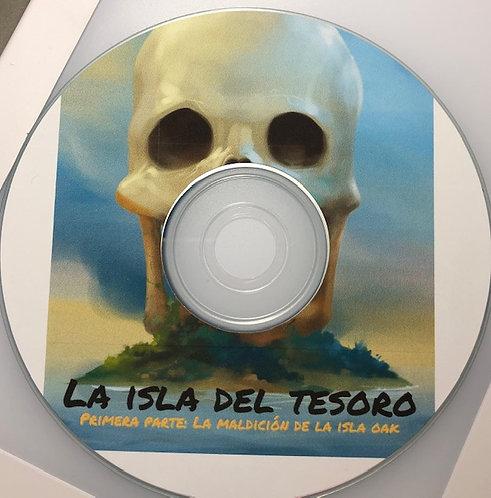 La isla del tesoro: Primera parte: La maldición de la isla - Audio Book Digital