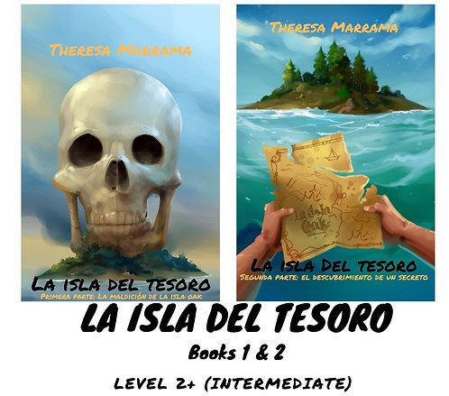 La isla del tesoro (Book 1 & 2) - Spanish Readers
