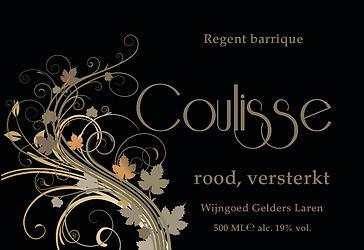 Coulisse versterkte (port)wijnen, Wijngoed Gelders Laren)