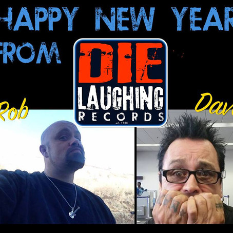 Happy New Year 2015 from Die Laughing Records!