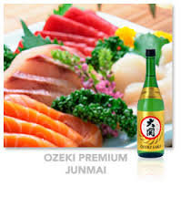 Ozeki Premium Junmai sake 720ml